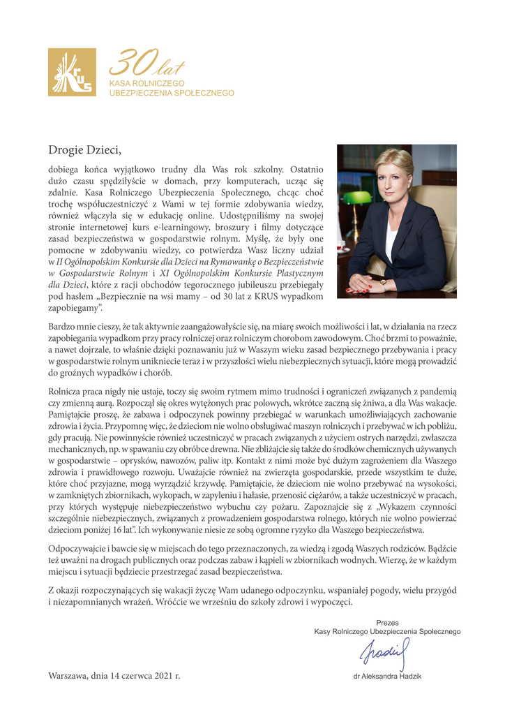 List Prezesa KRUS do dzieci-1.jpeg