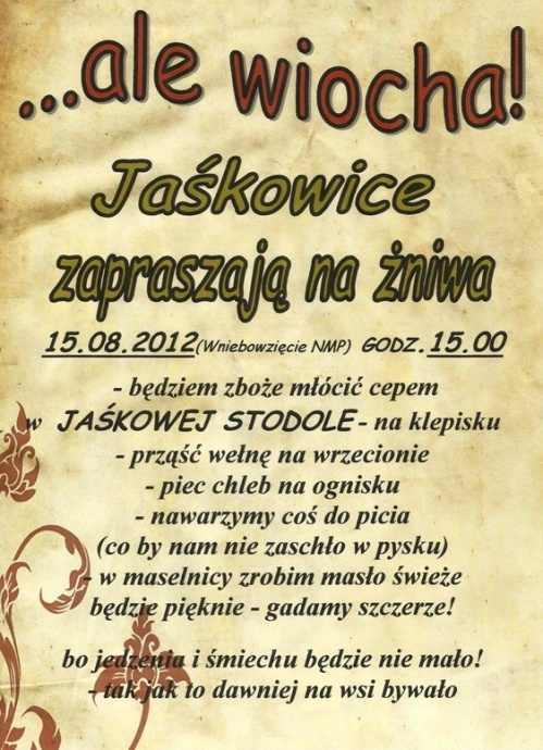 plakat jaskowice