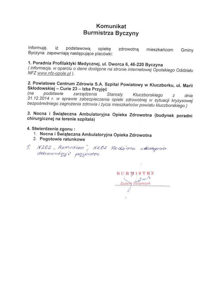 Komunikat Burmistrza Byczyny.jpeg