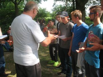 Galeria Zawody wędkarskie Dobiercice 04.06.2016