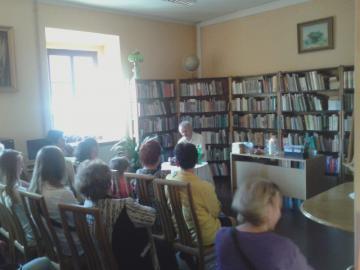 Galeria spotkanie autorskie Kruszyna